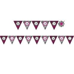 Boutique Pamper Party Flag Banner
