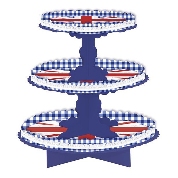 Easter 3 Tier Cup Cake Stands