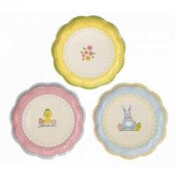 Spring Time Easter Party Plates