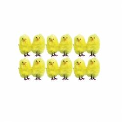 Easter 12 Mini Chicks Decorations