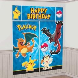 Pokemon & Friends Party Scene Setter