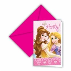 Disney Princess Glamour Party Invitations