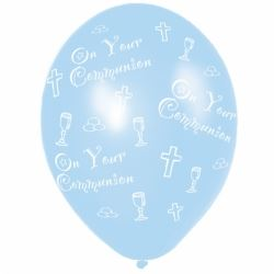 Communion Blue Balloons