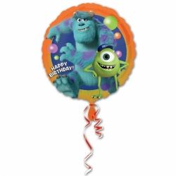 Monster University Happy Birthday Foil Balloon