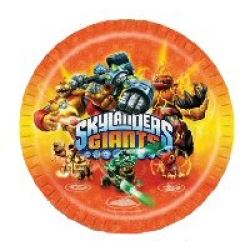 Skylander Giants Party Plates