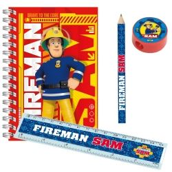 New Fireman Sam Party Favour Stationary Set
