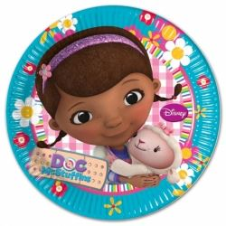 Doc McStuffins Party Plates