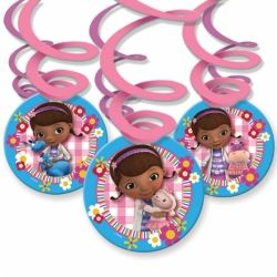 Disney Doc McStuffins Swirl Decorations
