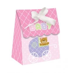 Teddy Baby Pink Party Favour Bag