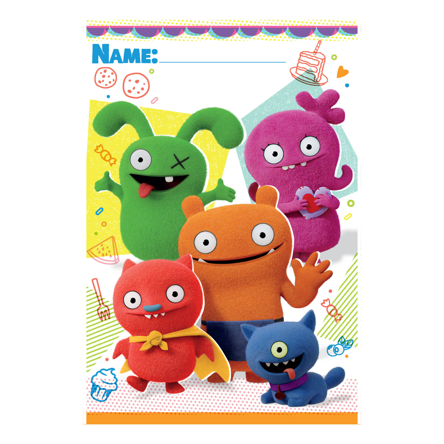 Ugly Dolls Party Bags