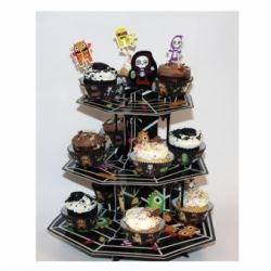 Boo Crew Monsters Cupcake Stands