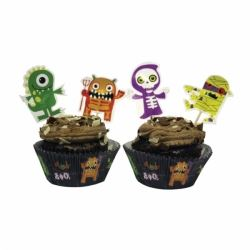 Boo Crew Monster Cupcake Kit