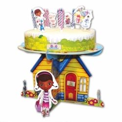Disney Doc McStuffins Birthday Cake Decoration Kit