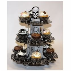 Fright Night Party Cupcake Stand