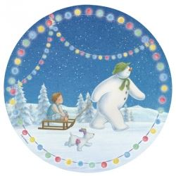 The Snowman And Snowdog Party Plates