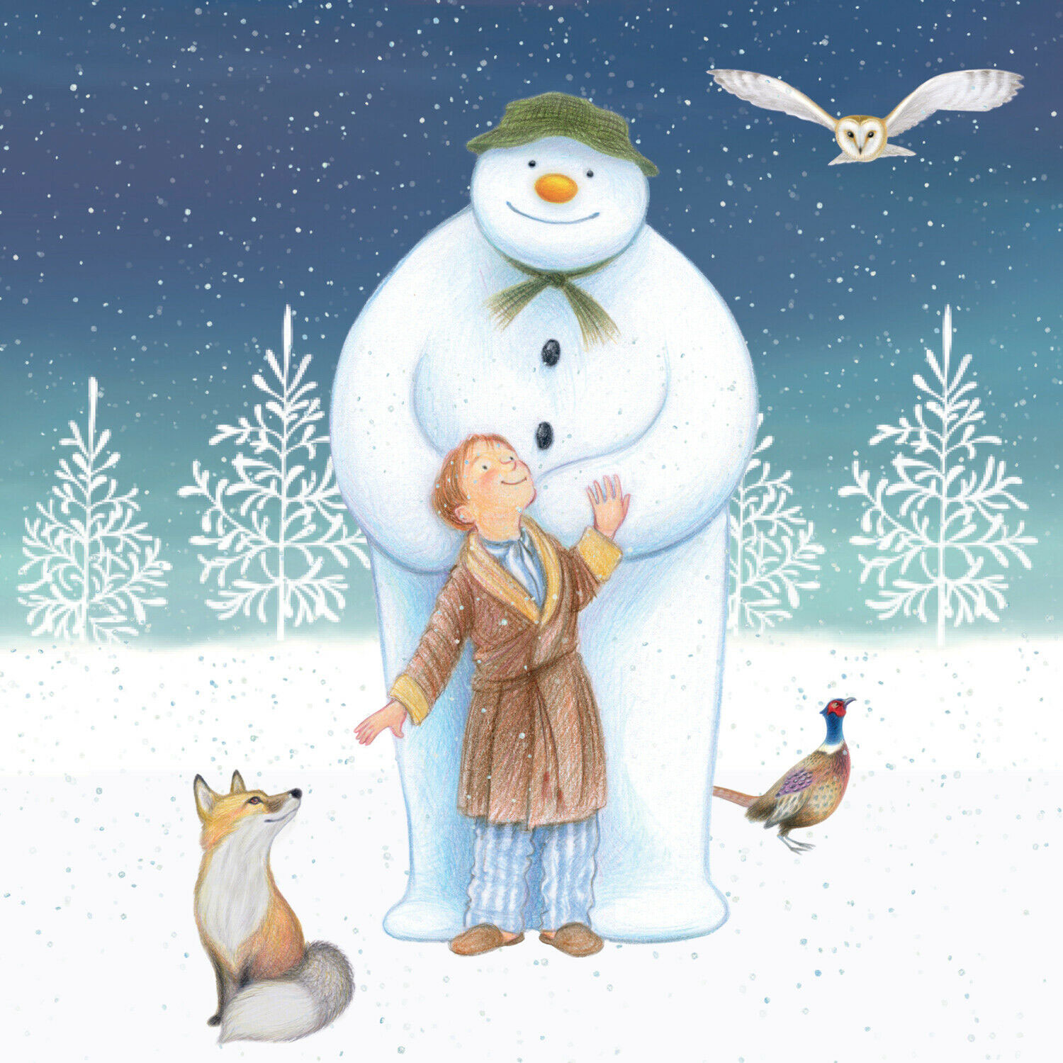 The Snowman And Snowdog Party Napkins