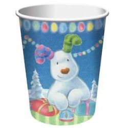 The Snowman And Snowdog Party Cups
