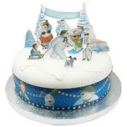 The Snowman and Snowdog Cake Topper Kit
