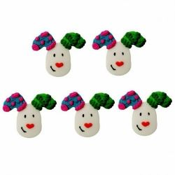 The Snowdog Sugar Cake Decorations