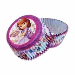 Disney Sofia First Foil Cake Cases