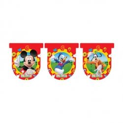 Mickey Mouse Happy Birthday Party Flag Banners
