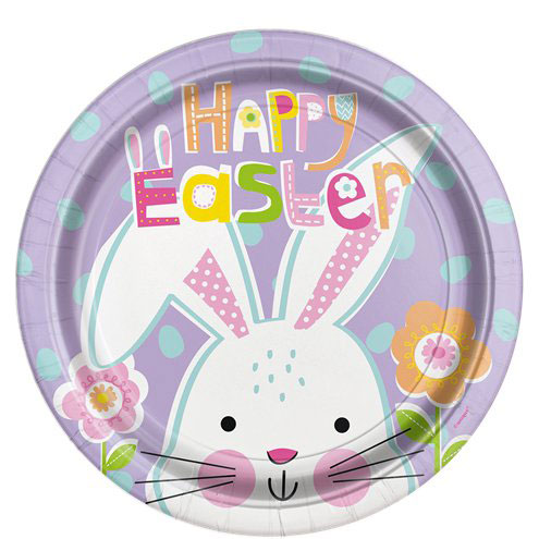 Easter Peek A Boo Luncheon Party Plate