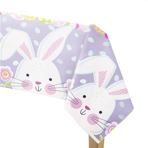 Easter Peek a Boo Bunny Tablecover