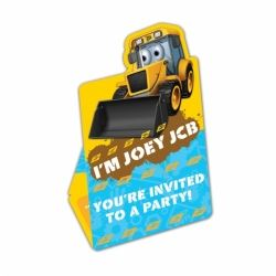 My 1st JCB Party Invitations