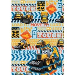 My 1st JCB Party Gift Wrap and Gift Tags