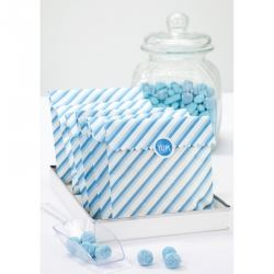 Blue Stripped Party Sweet Bags