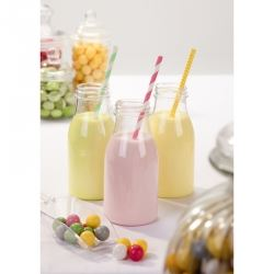 Mini Plastic Milk Bottles