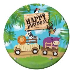 Safari Adventure Party Plates
