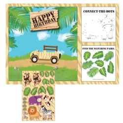 Safari Adventure Party Placemats