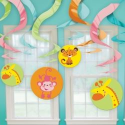 Fisher Price Baby Shower Swirl Decoration