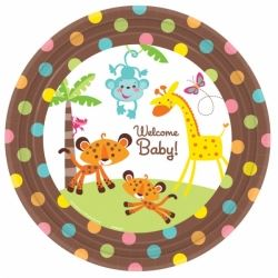 Fisher Price Baby Shower Plates