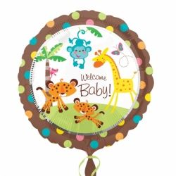 Fisher Price Welcome Baby Foil Party Balloon