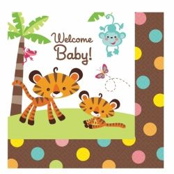 Fisher Price Welcome Baby Party Napkins