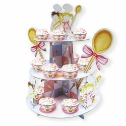 Little Cooks Party Cupcake Stand