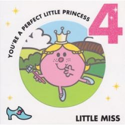 Little Miss Birthday Cards Age 4