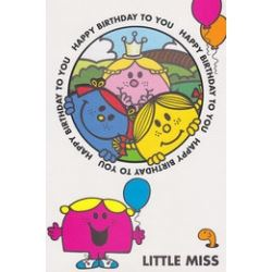 Little Miss Birthday Cards