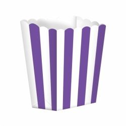 Candy Buffet Popcorn Box Purple