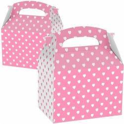 Pink Heart Party Boxes
