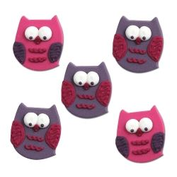 Owl Pal Cake Toppers