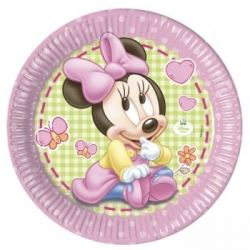 Disney Baby Minnie Mouse Party Plates