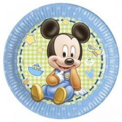 Disney Baby Mickey Mouse Party Plates