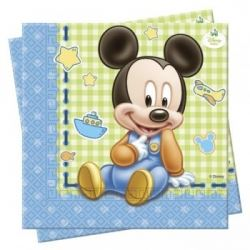 Disney Baby Mickey Mouse Party Napkins