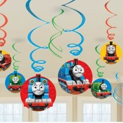 Thomas The Tank Party Swirls
