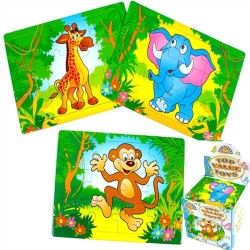 Zoo Animals Mini Jigsaw Puzzles