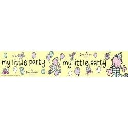 Bang On The Door  My Little Party Banner