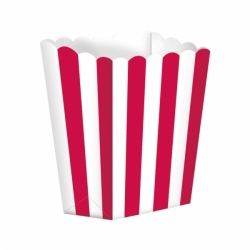 Candy Buffet Popcorn Box Red